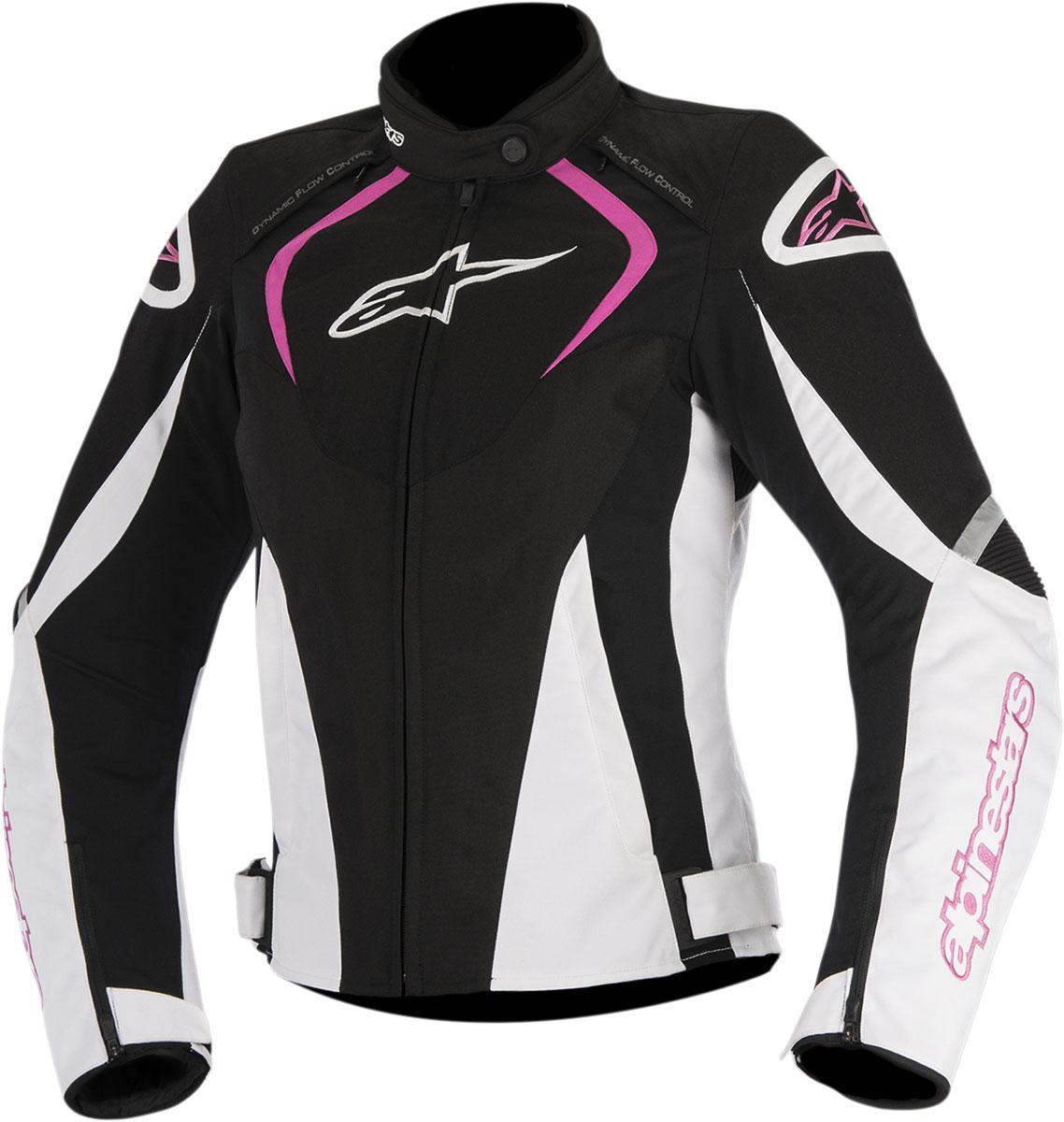 Alpinestars Stella T-JAWS Waterproof Textile Jacket (Black/Pink)