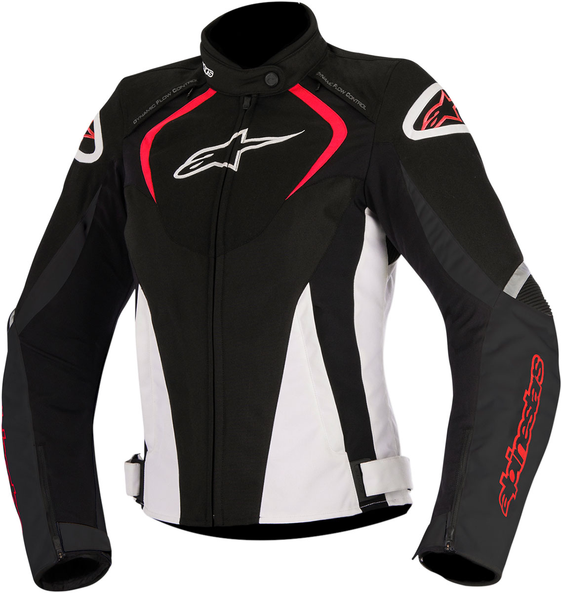Alpinestars Stella T-JAWS Waterproof Textile Jacket (Black/White/Red)