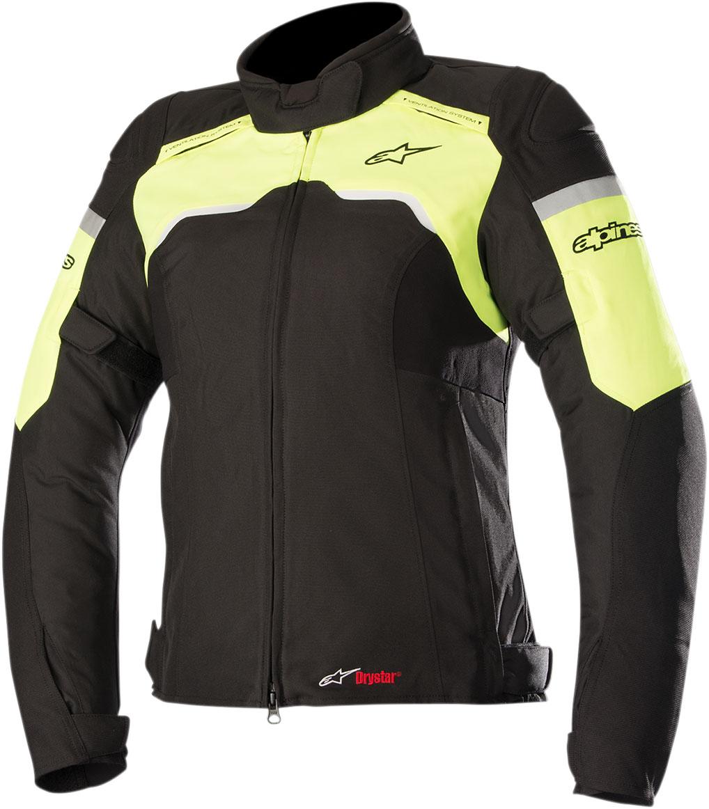 Alpinestars Stella HYPER Drystar Sport-Touring Jacket (Black/Flo Yellow)