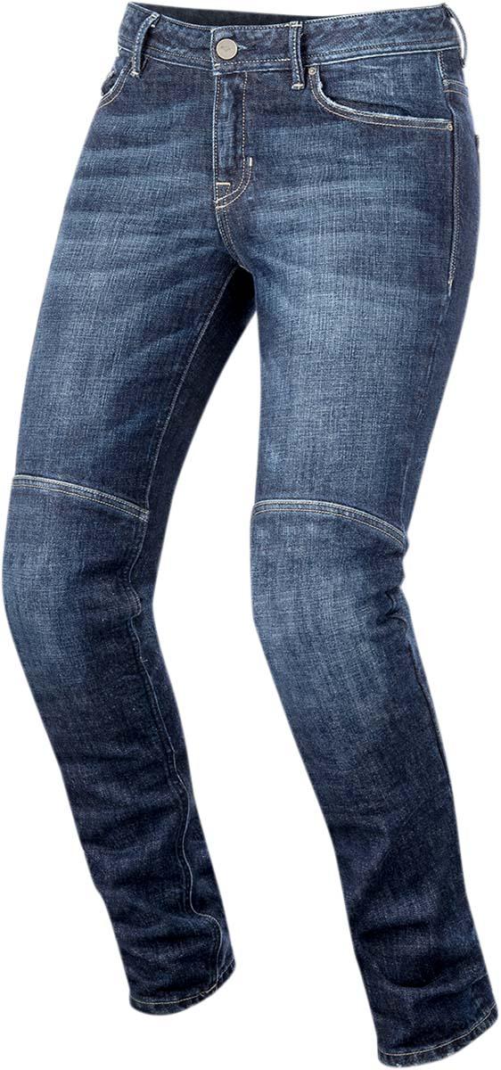 Alpinestars DAISY Denim Urban Motorcycle Pants/Jeans (Dark Rinse)