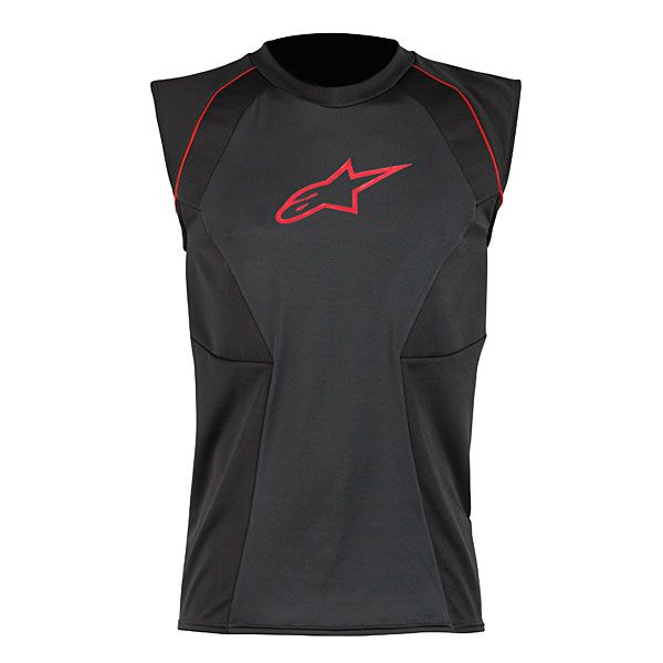 Alpinestars MX Cooling Motorcycle Vest (Black/Red)