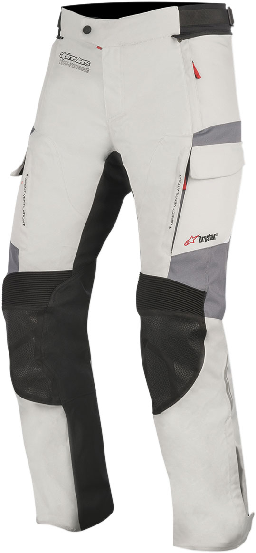 Alpinestars ANDES V2 Drystar Adventure Touring Motorcycle Pants (Grey/Black)