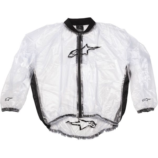Alpinestars Motorcycle Mud Jacket (Clear)
