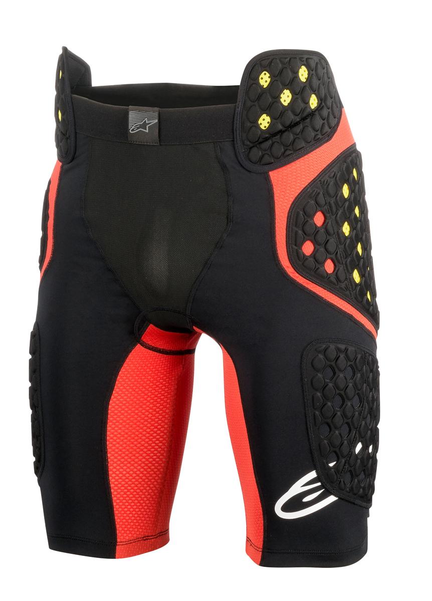 Alpinestars MX/Motocross SEQUENCE PRO MX Shorts (Black/Red)