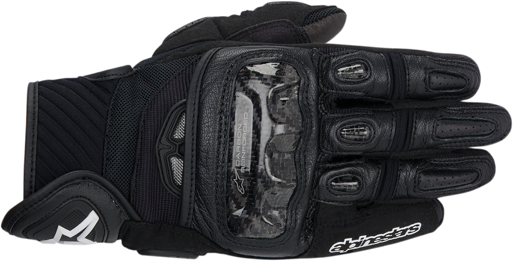 Alpinestars GP Air Textile/Leather Short Cuff Touch Screen Motorcycle Gloves (Black)