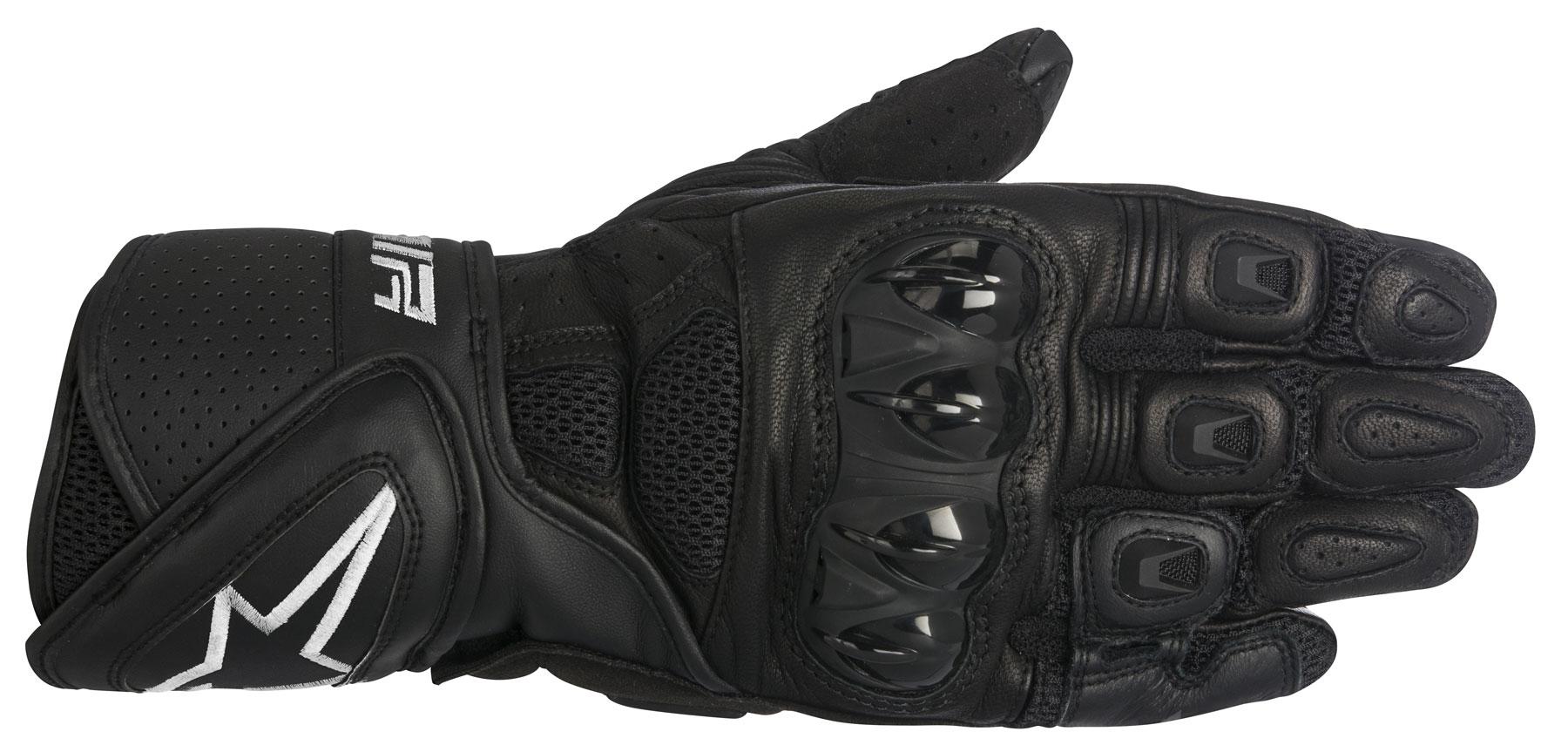 Alpinestars SP AIR Leather/Mesh Gloves (Black)