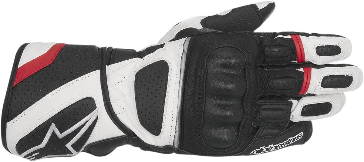 Alpinestars SP-Z Drystar Performance Gloves (Black/White/Red)