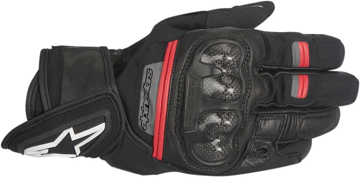 Alpinestars RAGE Drystar Performance Gloves (Black/Red)