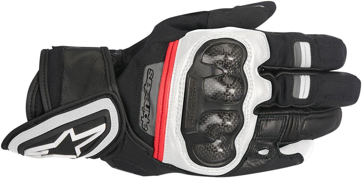 Alpinestars RAGE Drystar Performance Gloves (Black/White/Red)