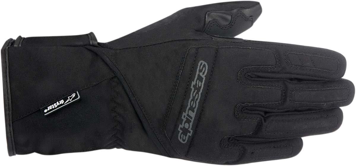 Alpinestars Stella SR-3 Drystar Waterproof Insulated Motorcycle Gloves (Black)