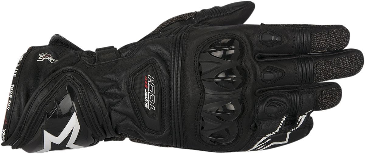 Alpinestars SUPERTECH Leather Gloves (Black)