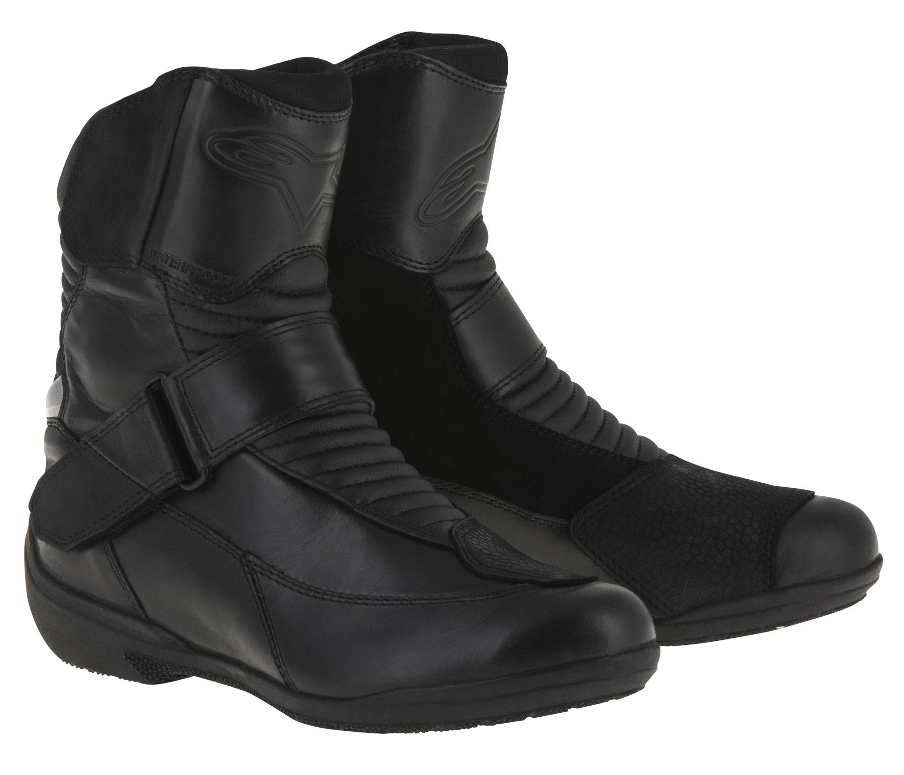Alpinestars Stella VALENCIA Waterproof Leather Touring Boots (Black)