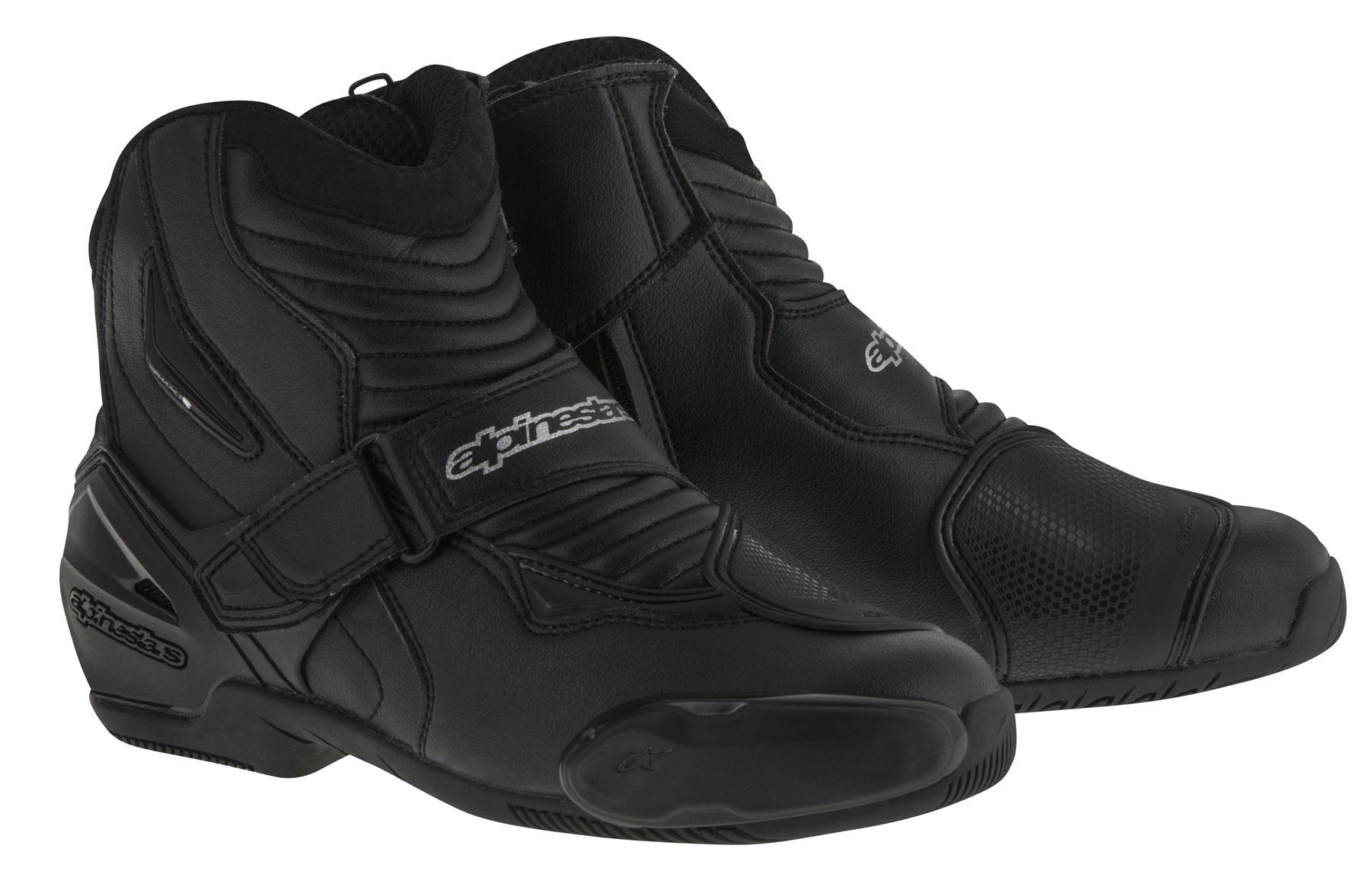 Alpinestars SMX-1 R Low-Cut Boots (Black)
