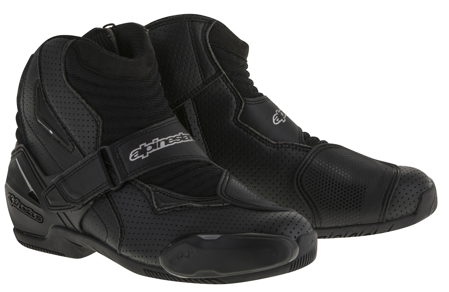 Alpinestars SMX-1 R Vented Low-Cut Boots (Black)