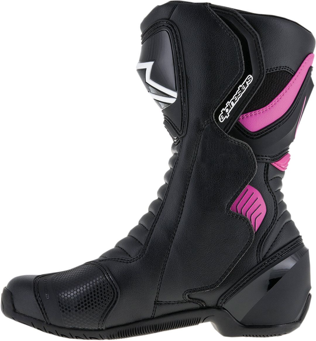 Black//Pink 40 Alpinestars Stella S-MX 1R Vented Womens Street Motorcycle Shoes