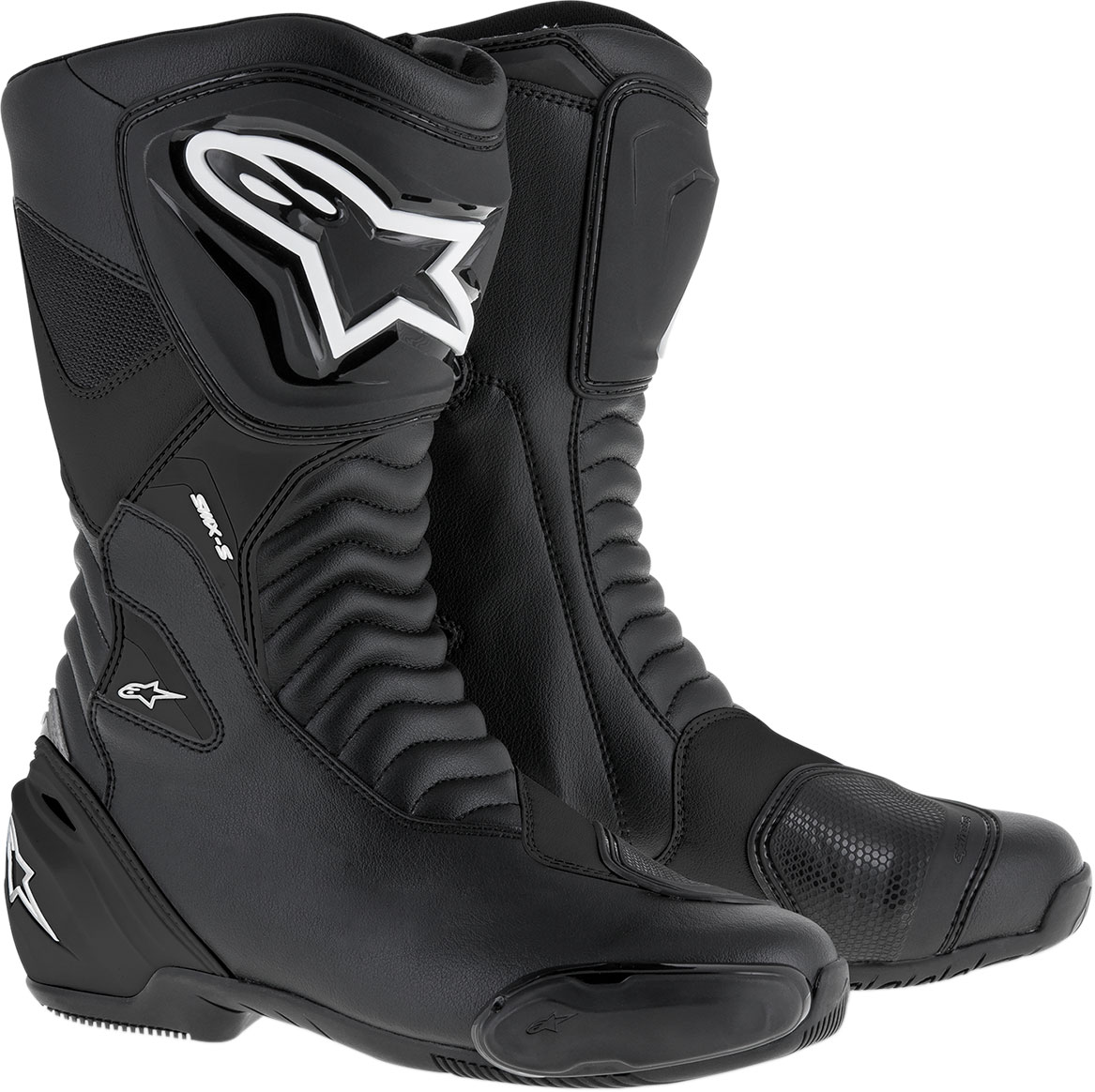 Alpinestars SMX-S Leather Boots (Black)