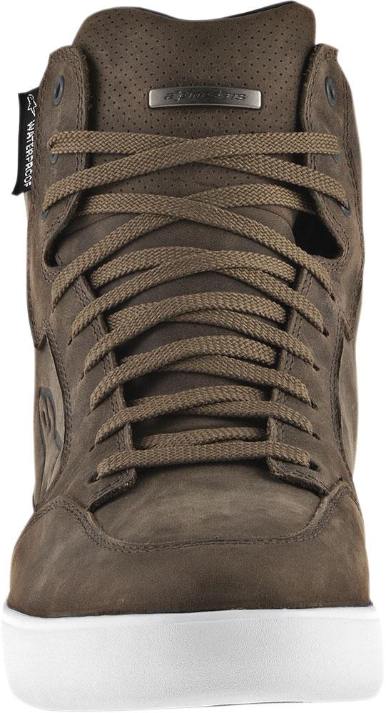 Alpinestars J 6 Waterproof Riding Shoes (Brown)