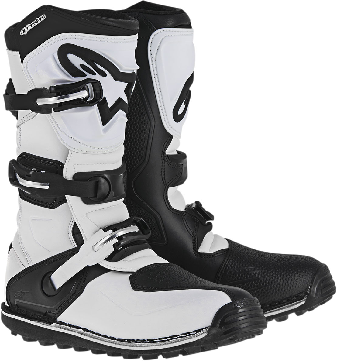 Alpinestars Trials Offroad TECH-T Boots (White/Black)