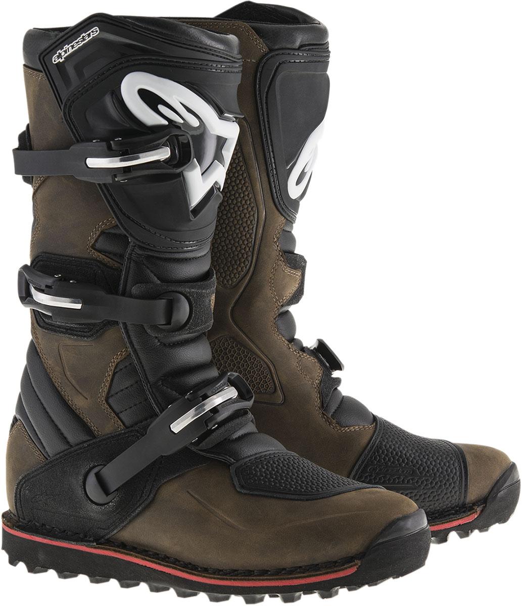 Alpinestars Trials Offroad TECH-T Boots (Brown)