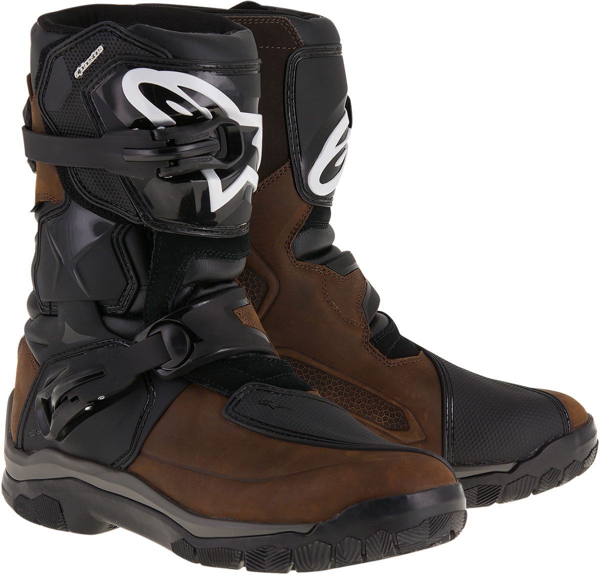 Alpinestars BELIZE Drystar Oiled Leather Touring Boots (Brown)
