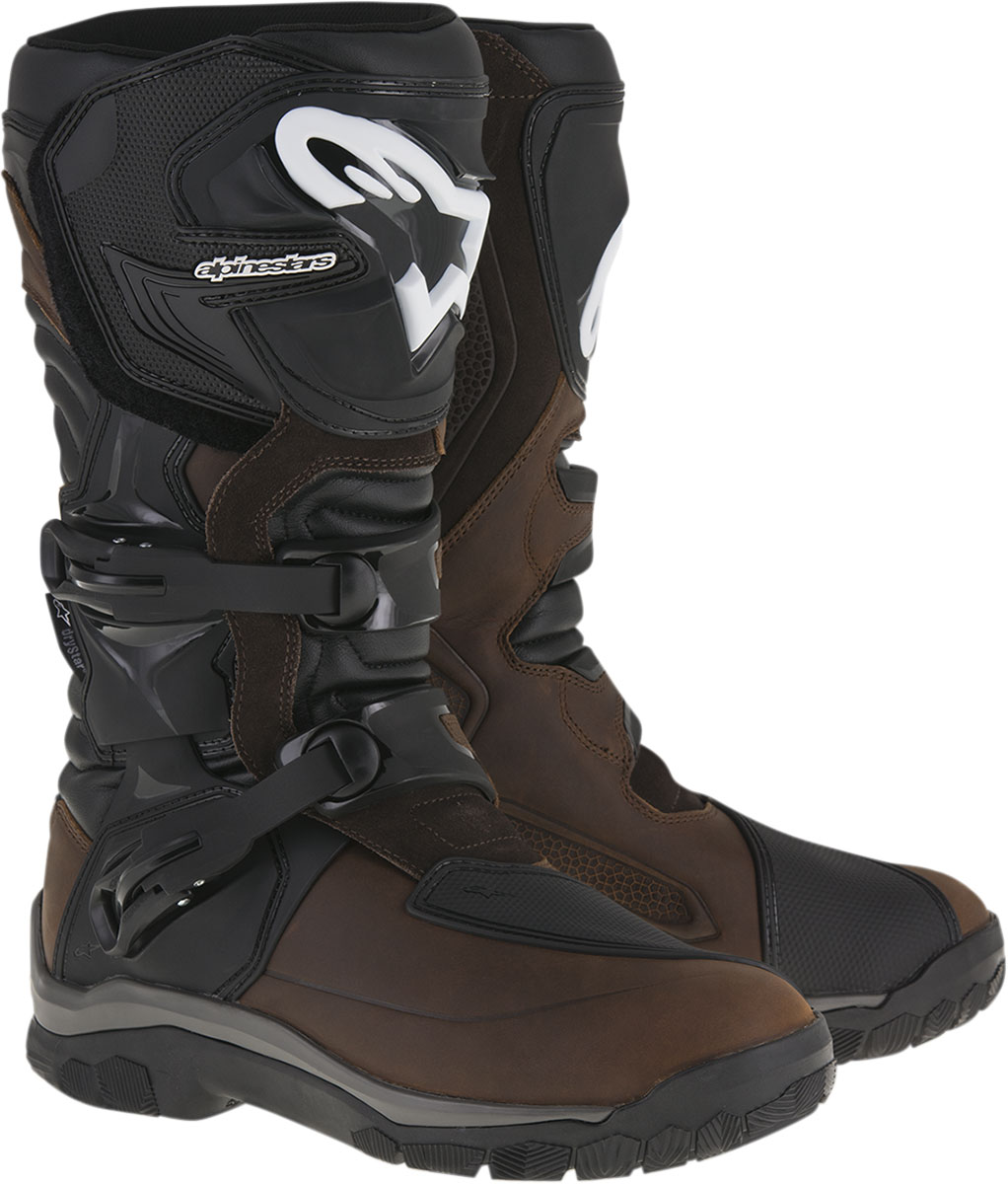 Alpinestars COROZAL Drystar Oiled Leather Adventure Touring Boots (Brown)