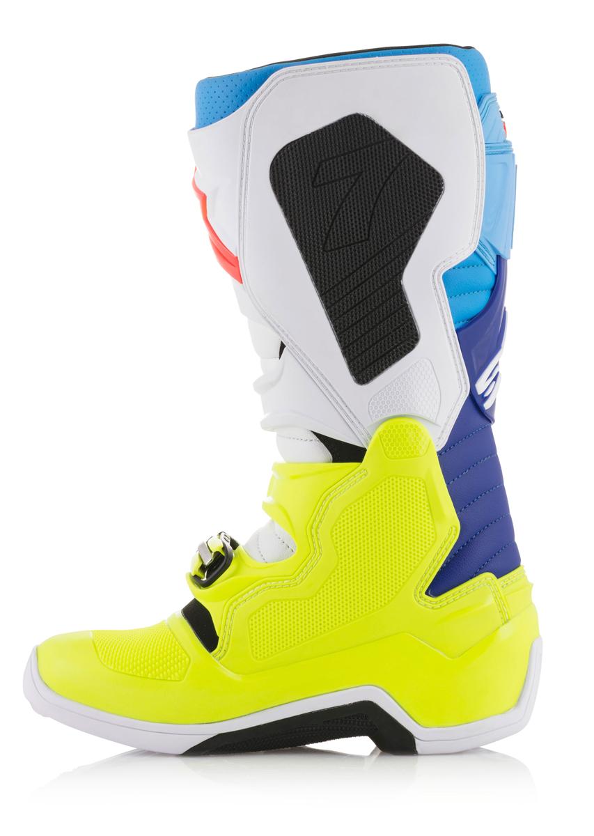 2019 Alpinestars Tech 7S Youth Boots Orange Blue   Sixstar