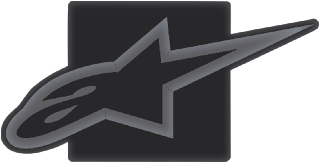 Alpinestars TOW HITCH COVER (Black/Charcoal)