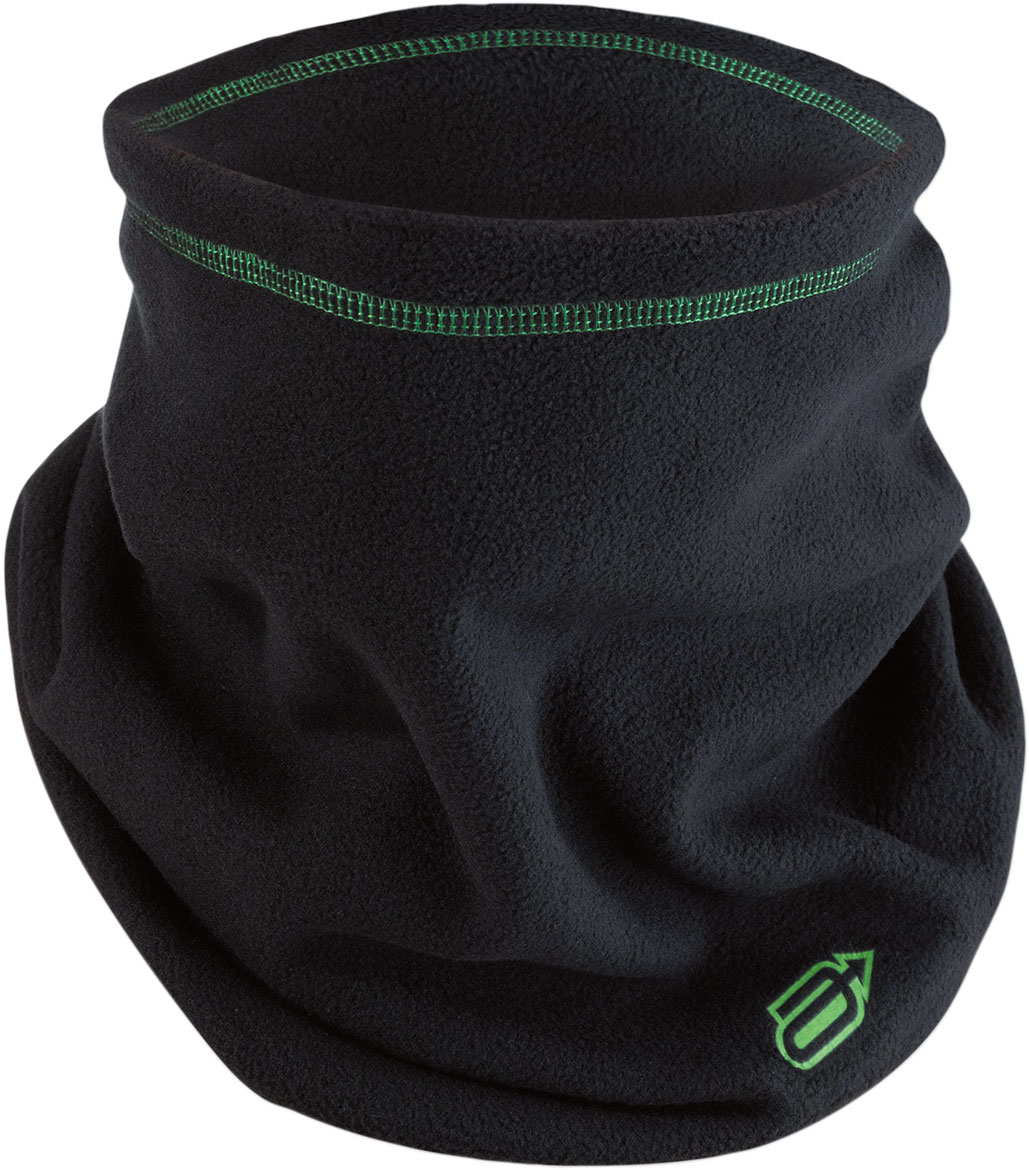 Arctiva Fleece Neck Warmer (Black/Green)