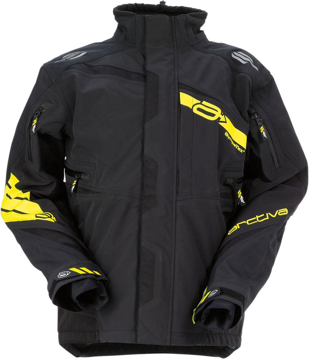 ARCTIVA Snow Snowmobile VIBE Shell Jacket (Black)