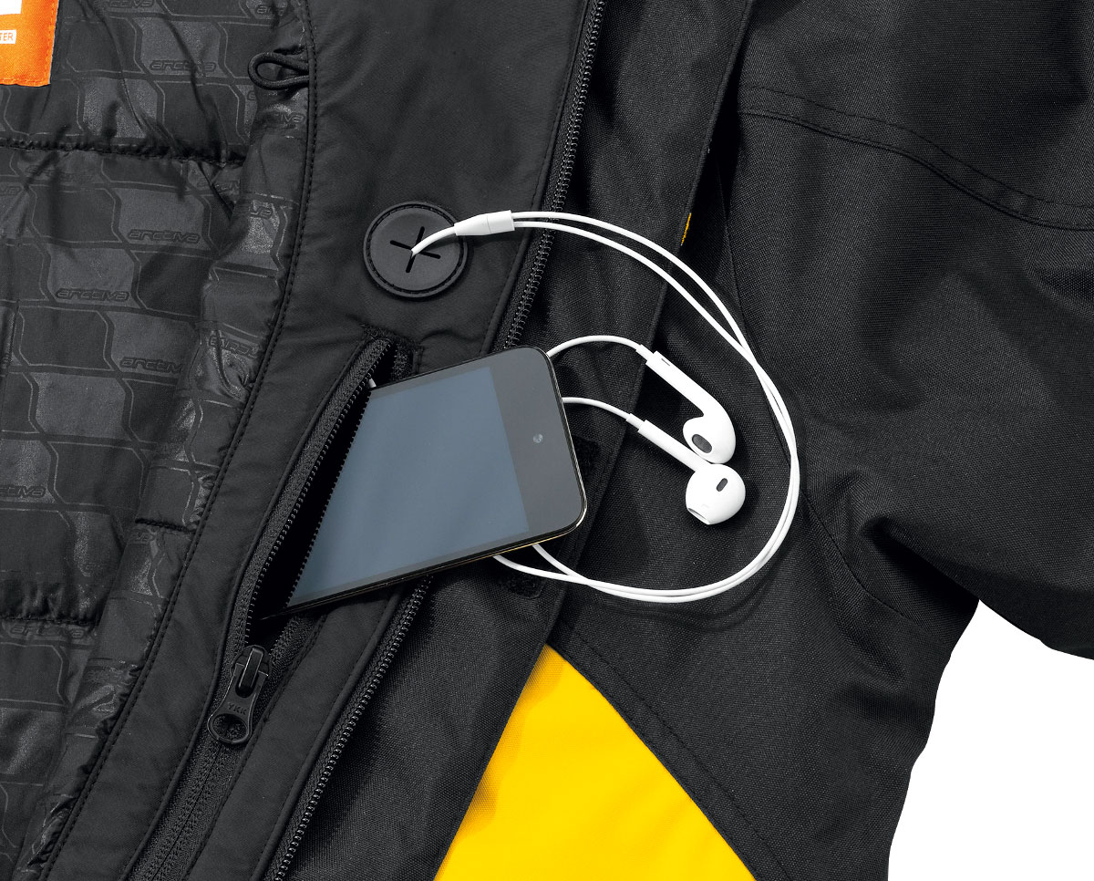 Arctiva Snow Snowmobile Men/'s 2018 PIVOT Insulated Jacket Black//Orange