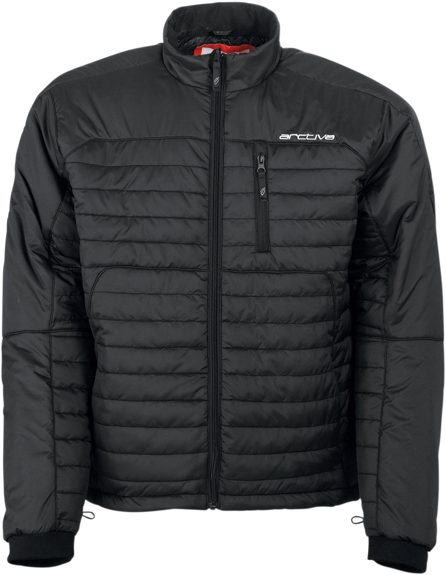 Arctiva Snow Snowmobile Mech 3M Thinsulate Insulated Mid-Layer Jacket (Black)