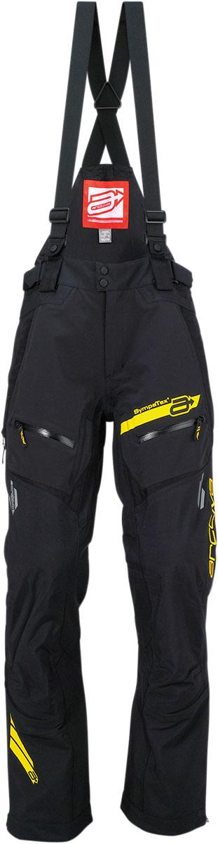 ARCTIVA Snow Snowmobile VIBE Shell Bibs/Pants (Black)