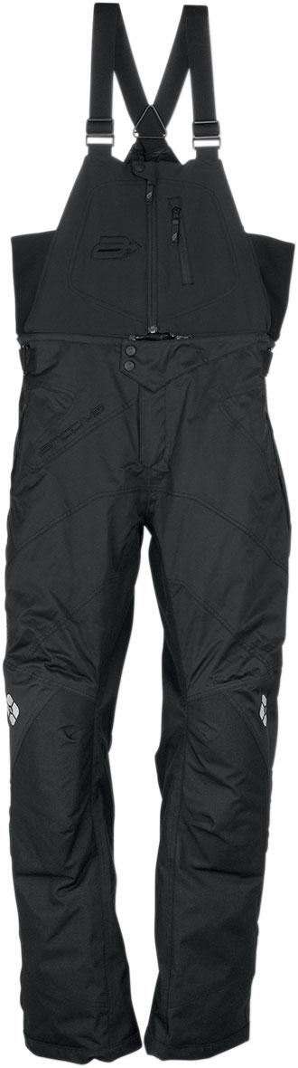 Arctiva Snow Snowmobile MECH Insulated Bibs/Pants (Black)