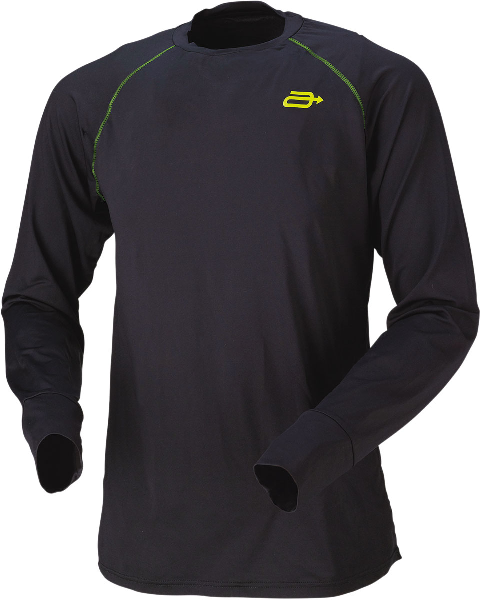 ARCTIVA Snow Snowmobile REGULATOR Base Layer Jersey (Black)