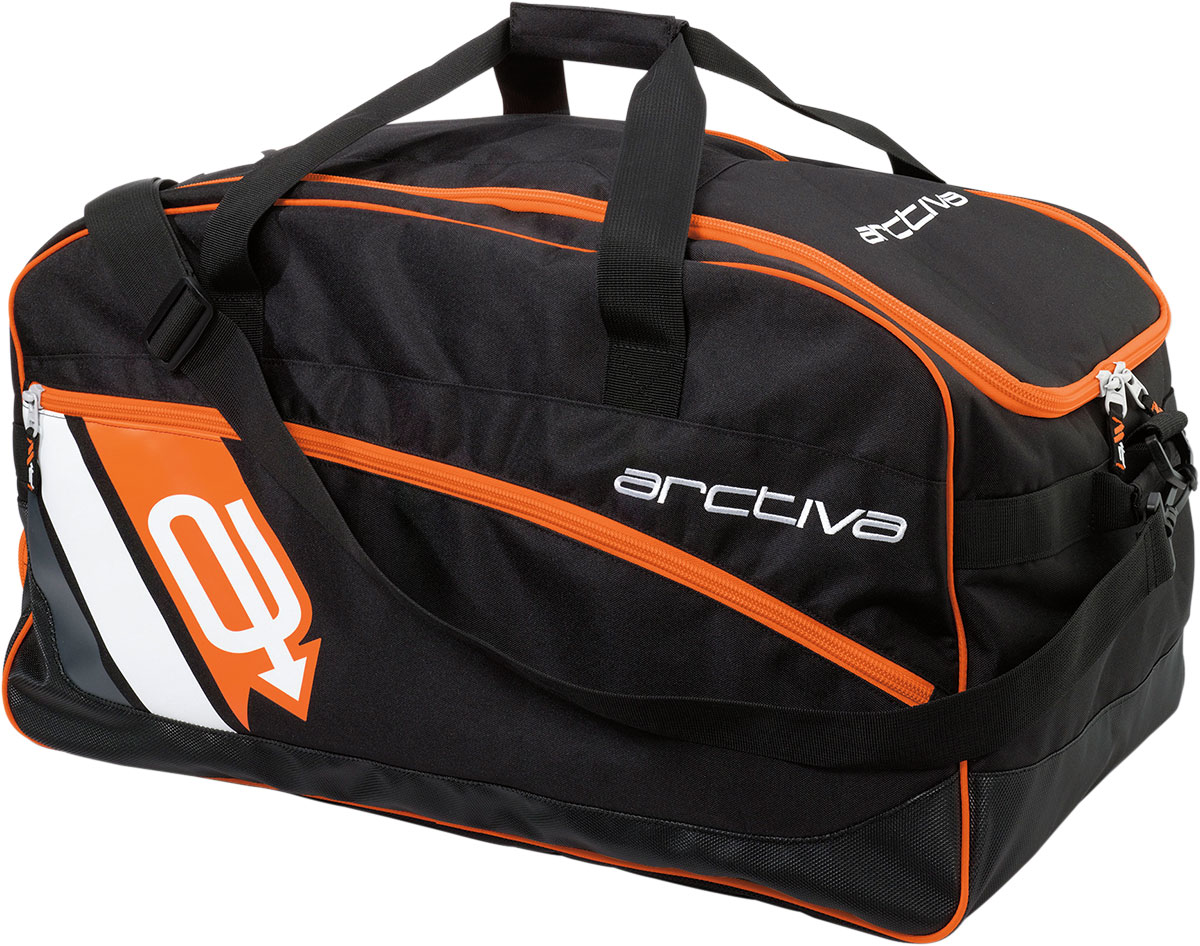Arctiva Snow Snowmobile GEAR BAG (Black/Orange)