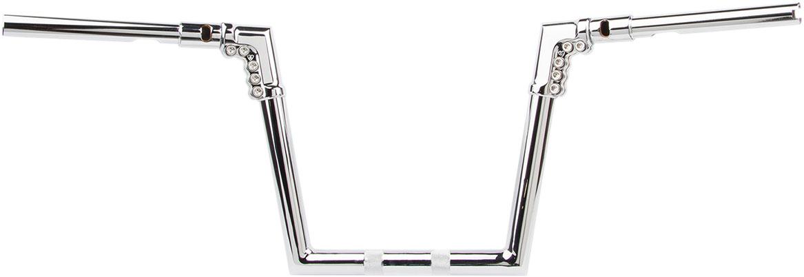 Arlen Ness - 08-974 - 1-1/4in. Drag Modular Handlebar, 11in. - Chrome