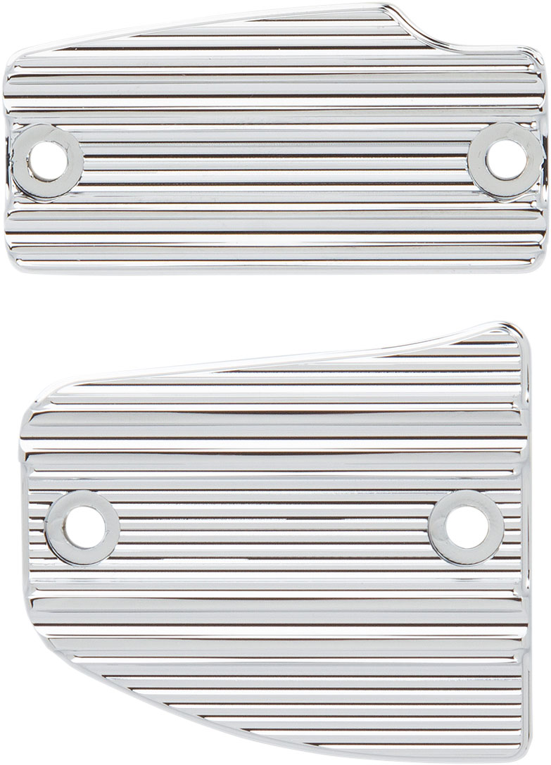 Arlen Ness - I-1227 - Master Cylinder Front and Rear Cover Kit, Chrome