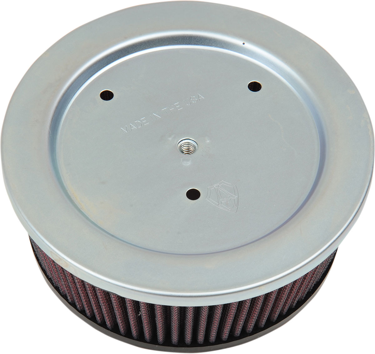Arlen Ness - 18-081 - Replacement Air Filter for Big Sucker Stage II, Red Filter