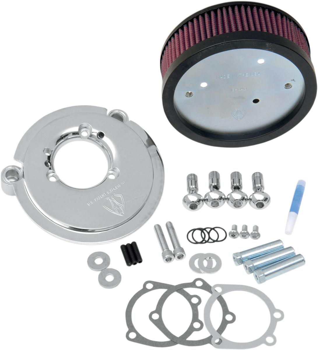 Arlen Ness - 18-825 - Big Sucker Stage I Air Filter Kit for OEM Cover