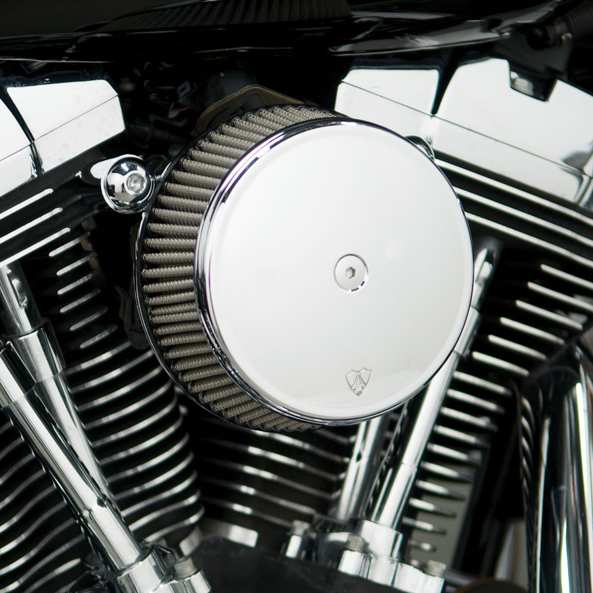 Arlen Ness 50-331 Big Sucker Stage I Air Cleaner Kit Steel Cover/Jacketed Filter