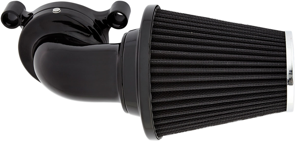 Arlen Ness - 81-000 - Monster Sucker Air Cleaner Kit with No Cover, Black