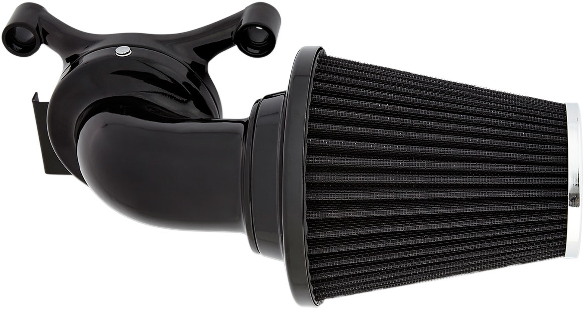 Arlen Ness - 81-010 - Monster Sucker Air Cleaner Kit with No Cover, Black