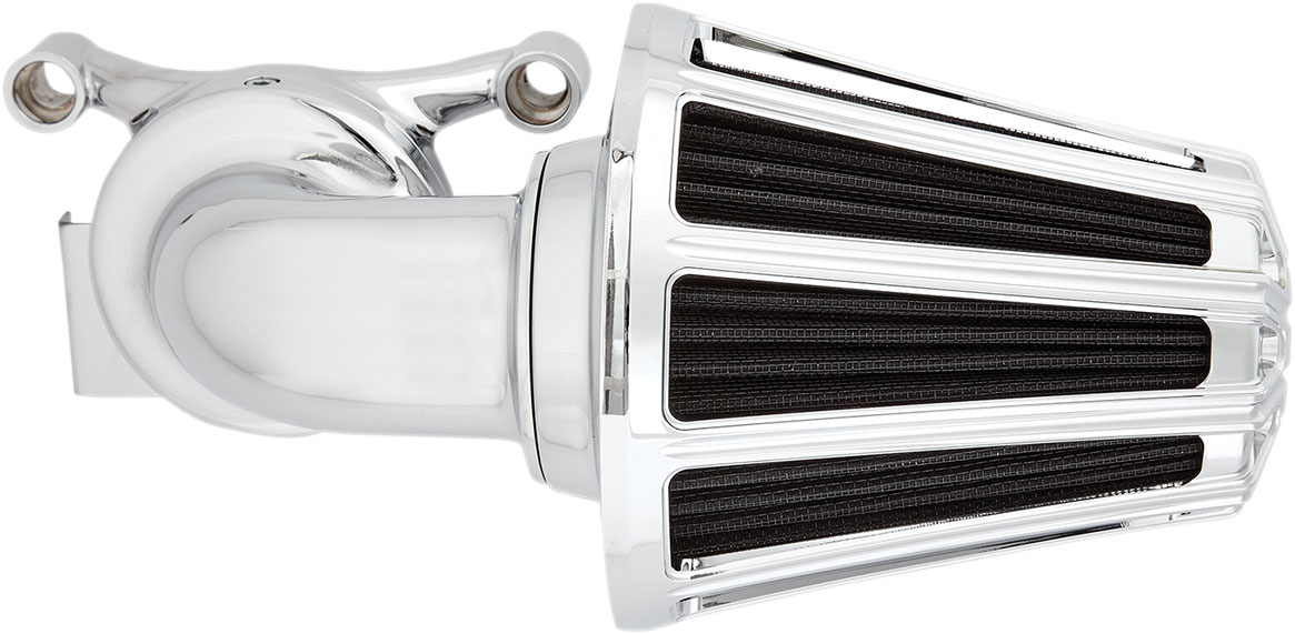 Arlen Ness - 81-022 - Monster Sucker Air Cleaner Kit, 10-Gauge - Chrome