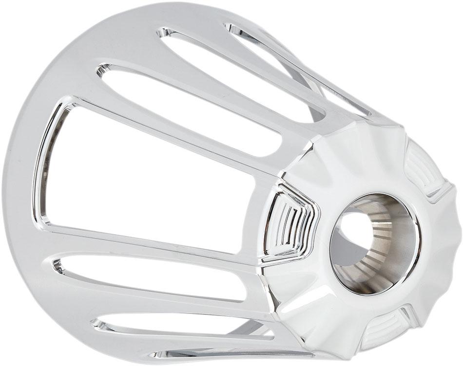 Arlen Ness - 81-103 - Monster Sucker Air Cleaner Cover, Deep Cut - Chrome