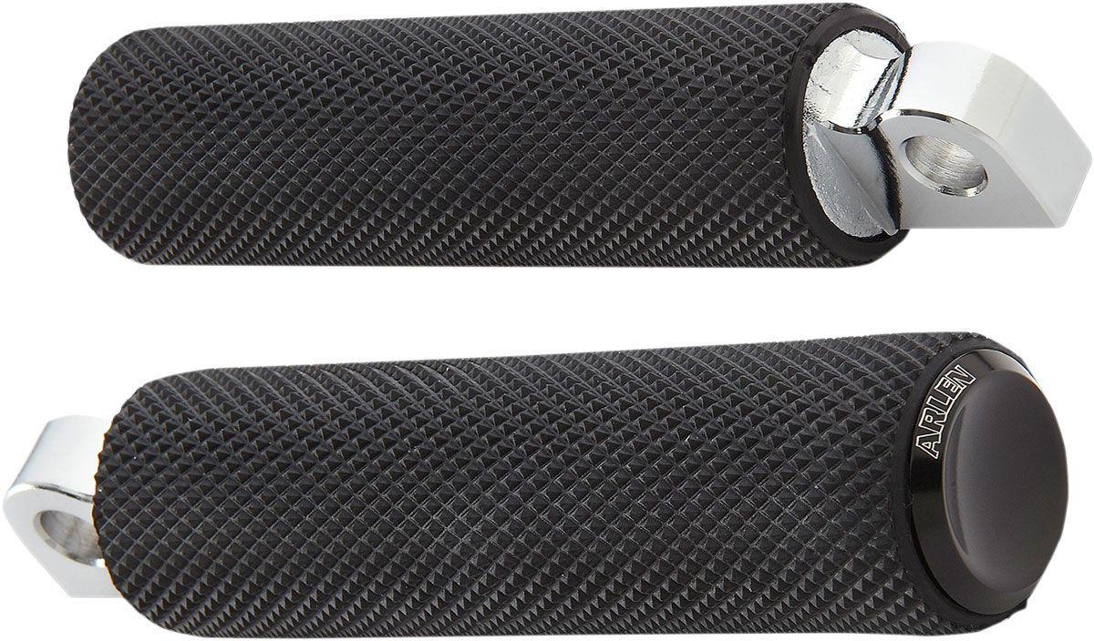 Arlen Ness - 07-925 - Fusion Footpegs, Knurled - Black