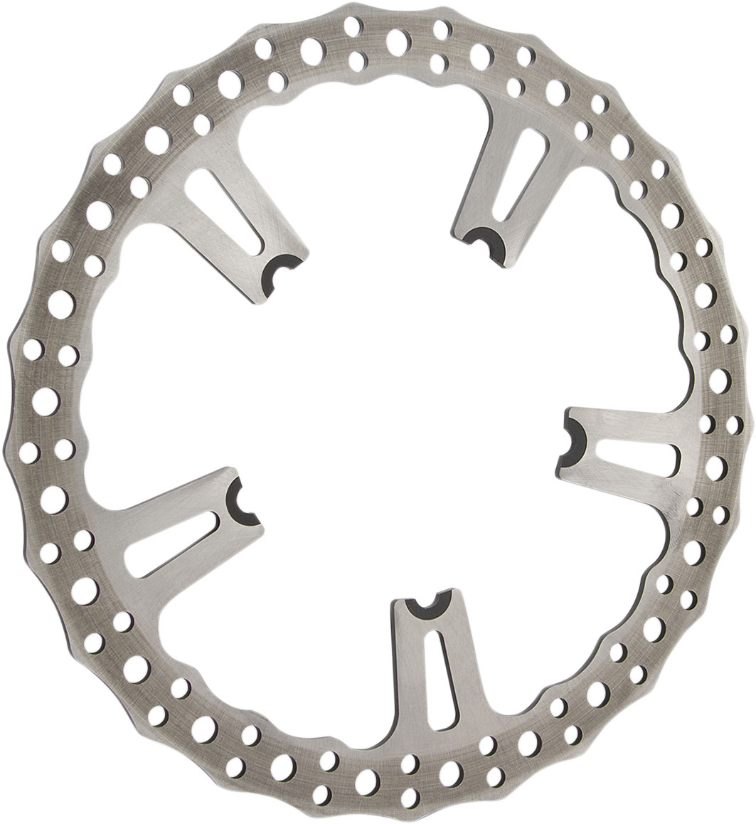 Arlen Ness - 02-991 - 15in. Big Brake Floating Rotor Kit, Wave