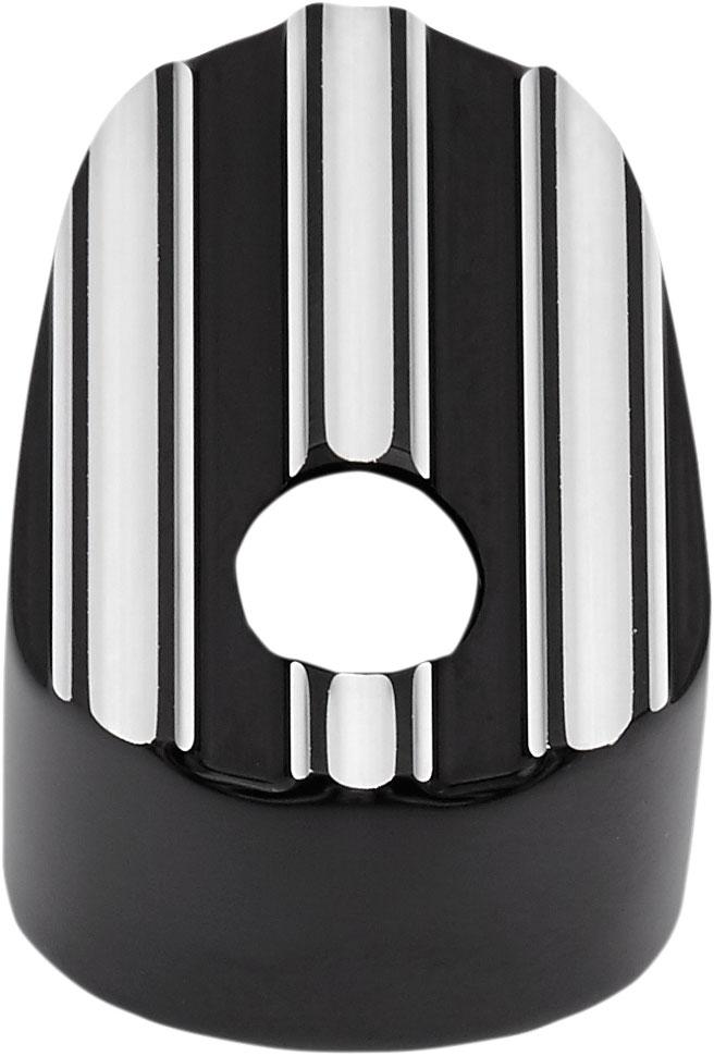 Arlen Ness - 04-213 - Ignition Switch Cover, 10-Gauge - Black