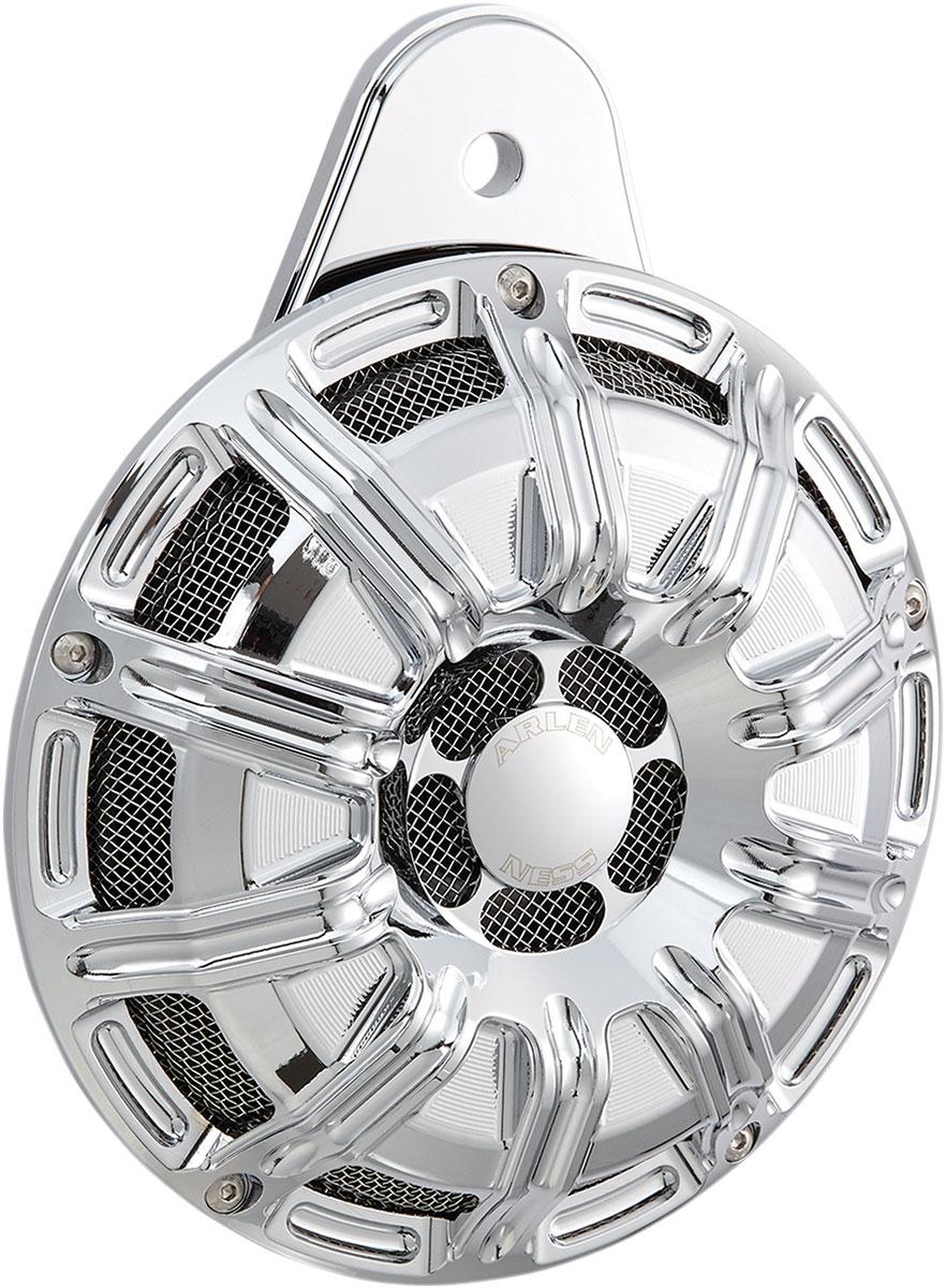 Arlen Ness - 70-251 - Horn Cover, 10-Gauge - Chrome