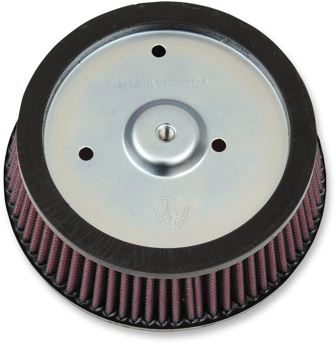 Arlen Ness - 18-098 - Replacement Air Filter for Big Sucker Stage I, Red Filter