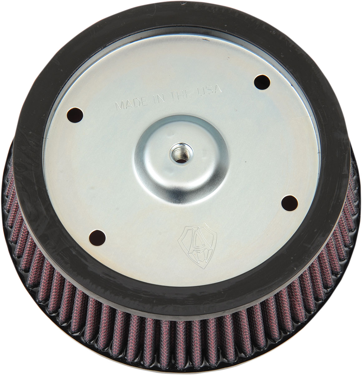 Arlen Ness - 18-097 - Replacement Air Filter for Big Sucker Stage I, Red Filter